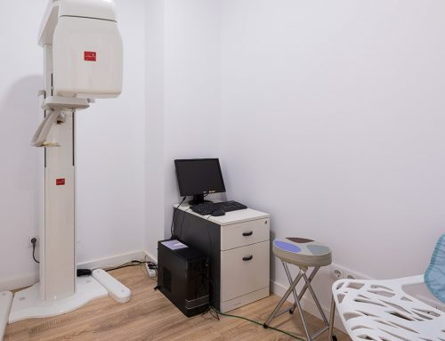 Sala de rayos de la clínica de Olga Casorran